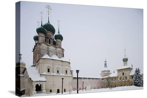 Cathedral of Assumption (16th Century) at Kremlin (12th Century)--Stretched Canvas Print