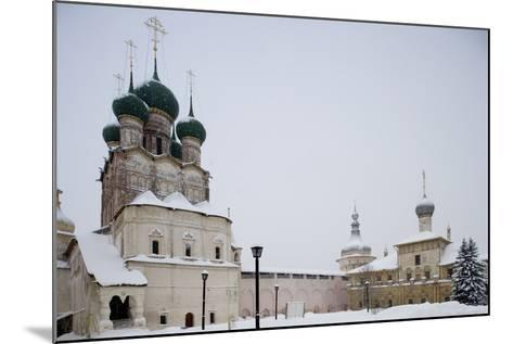 Cathedral of Assumption (16th Century) at Kremlin (12th Century)--Mounted Photographic Print