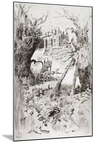 Bleak House. Illustration by Harry Furniss for the Charles Dickens Novel Bleak House--Mounted Giclee Print
