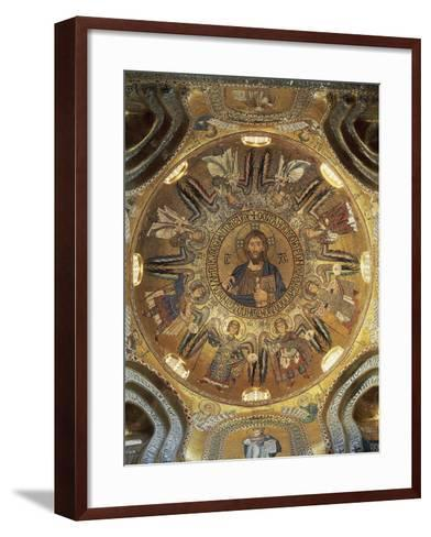 Christ Pantocrator--Framed Art Print
