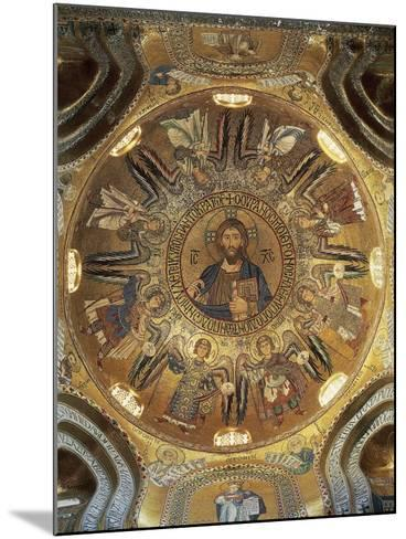 Christ Pantocrator--Mounted Photographic Print