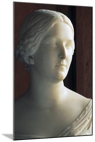 Bust of J Stephanie Von Baden (1813-1900) Symbolizing Season of Autumn--Mounted Giclee Print