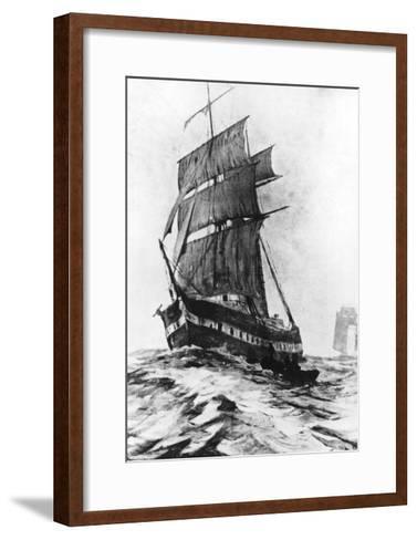 Brigantine Mary Celeste--Framed Art Print