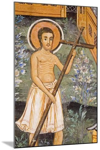 Christ Carrying Cross--Mounted Giclee Print