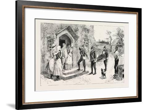 But the Bearers--Framed Art Print