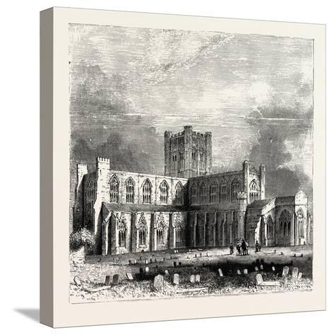 Chester Cathedral--Stretched Canvas Print