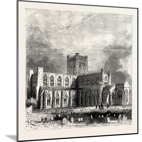Chester Cathedral--Mounted Giclee Print
