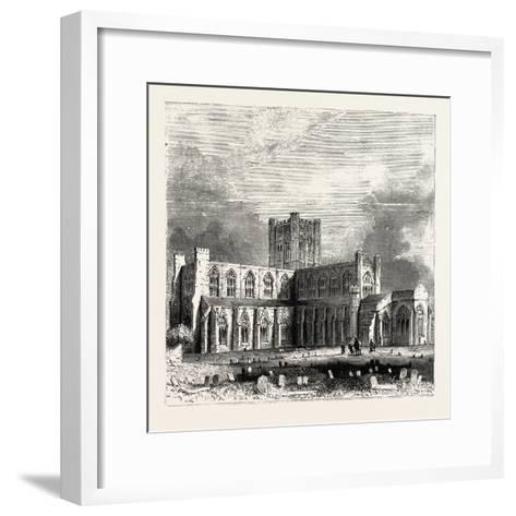 Chester Cathedral--Framed Art Print