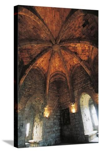 Ceiling of Musicians Hall--Stretched Canvas Print