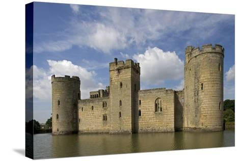 Bodiam Castle--Stretched Canvas Print