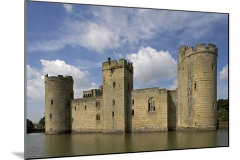 Bodiam Castle--Mounted Photographic Print