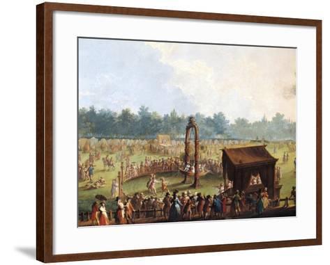 Celebration at Cascine in Honor of Ferdinand Iii--Framed Art Print
