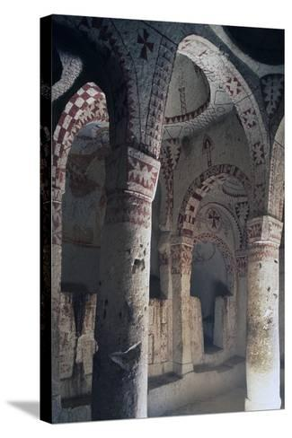 Church of St Barbara--Stretched Canvas Print