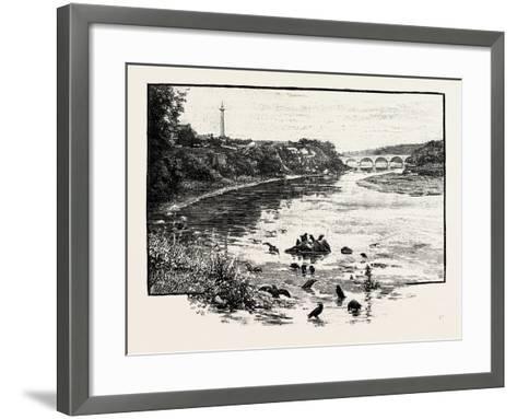Coldstream Bridge--Framed Art Print