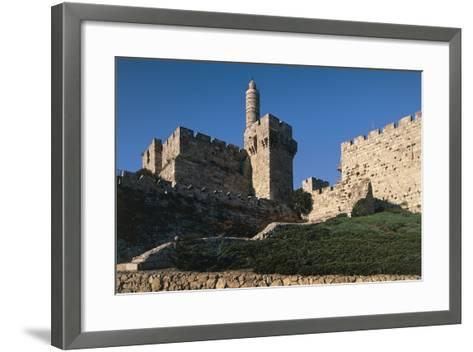 Citadel and Tower of David (Founded in 2nd Century BC)--Framed Art Print