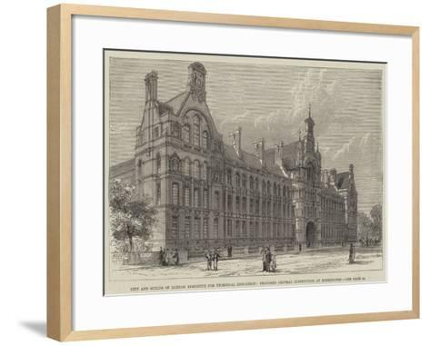 City and Guilds of London Institute for Technical Education--Framed Art Print