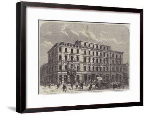 City Improvements--Framed Art Print