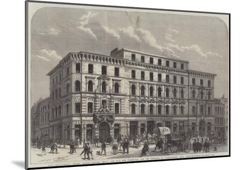 City Improvements--Mounted Giclee Print