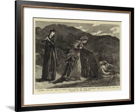 Colomba--Framed Art Print