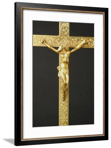 Crucifix--Framed Art Print