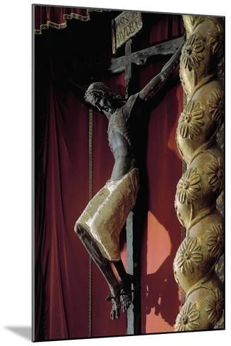 Crucifix from Catalan School--Mounted Giclee Print