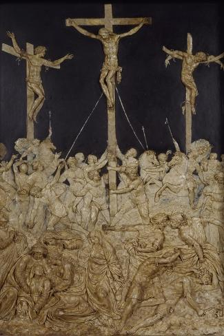 Crucifixion--Stretched Canvas Print