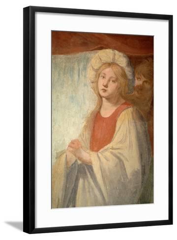 Female Figure--Framed Art Print