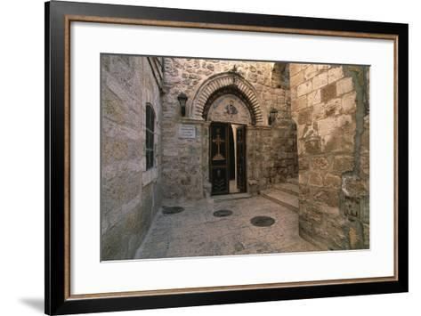 Entrance to the Church of St Mark--Framed Art Print
