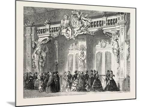 Entrance to the Lounge of the Empress at the Palace of Industry. Paris--Mounted Giclee Print