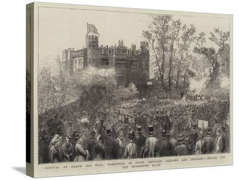 Festival at Heath Old Hall--Stretched Canvas Print