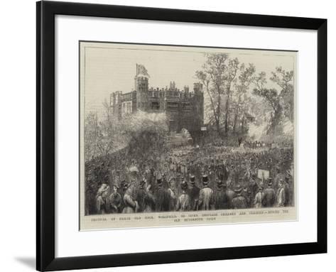 Festival at Heath Old Hall--Framed Art Print