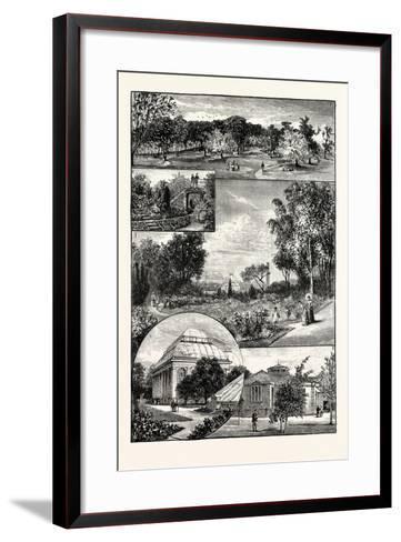 Edinburgh--Framed Art Print