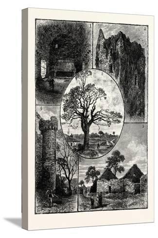 Edinburgh--Stretched Canvas Print