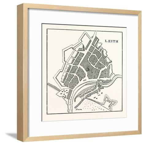 Edinburgh--Framed Art Print