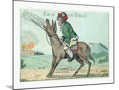 Erin Go Bray--Mounted Giclee Print