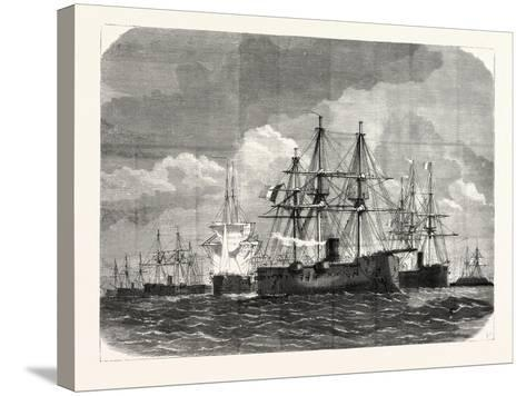 Franco-Prussian War: Blockade of the Baltic Sea--Stretched Canvas Print