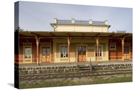 Former Railway Station (1904) Which Now Houses Museum of Estonian Railways--Stretched Canvas Print