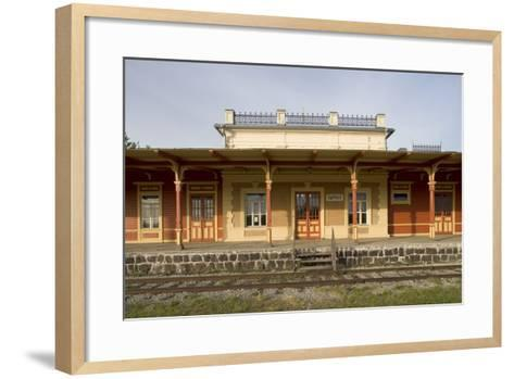 Former Railway Station (1904) Which Now Houses Museum of Estonian Railways--Framed Art Print