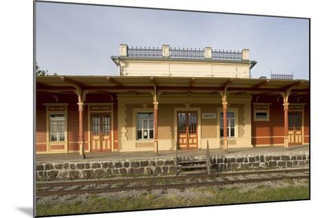 Former Railway Station (1904) Which Now Houses Museum of Estonian Railways--Mounted Photographic Print