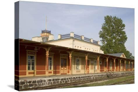 Former Railway Station (1904) Which Now Houses the Museum of Estonian Railways--Stretched Canvas Print