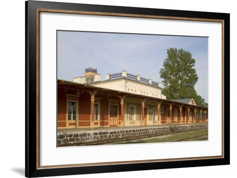 Former Railway Station (1904) Which Now Houses the Museum of Estonian Railways--Framed Art Print