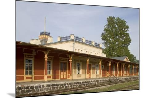 Former Railway Station (1904) Which Now Houses the Museum of Estonian Railways--Mounted Photographic Print