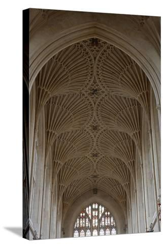 Fan Vaulting in the Abbey Church (1499) Bath (Unesco World Heritage List--Stretched Canvas Print