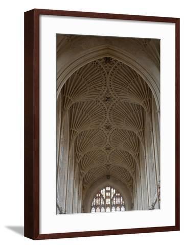 Fan Vaulting in the Abbey Church (1499) Bath (Unesco World Heritage List--Framed Art Print