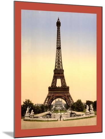 Eiffel Tower--Mounted Giclee Print
