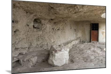 Entrance to Cell in the Aladzha Rock Monastery (12th Century)--Mounted Photographic Print