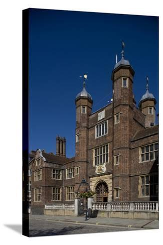 Entrance to Hospital of Blessed Trinity known as Abbot's Hospital Commissioned by George Abbot--Stretched Canvas Print