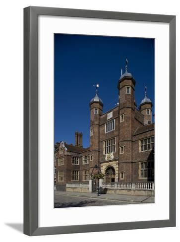 Entrance to Hospital of Blessed Trinity known as Abbot's Hospital Commissioned by George Abbot--Framed Art Print