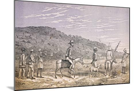 Explorers in East Africa--Mounted Giclee Print