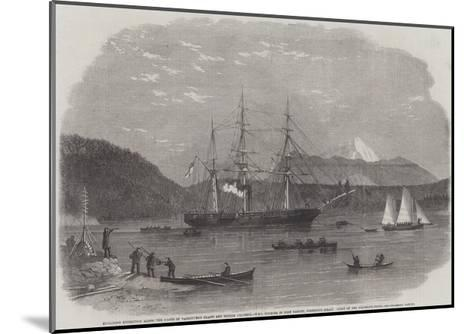 Exploring Expedition Along the Coasts of Vancouver's Island and British Columbia--Mounted Giclee Print